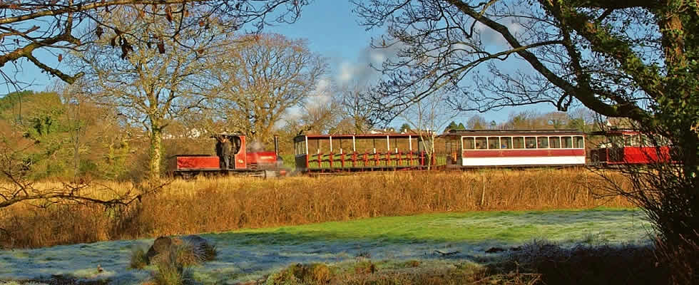 The Launceston Steam Railway makes for a great day out for all the family, young or old.