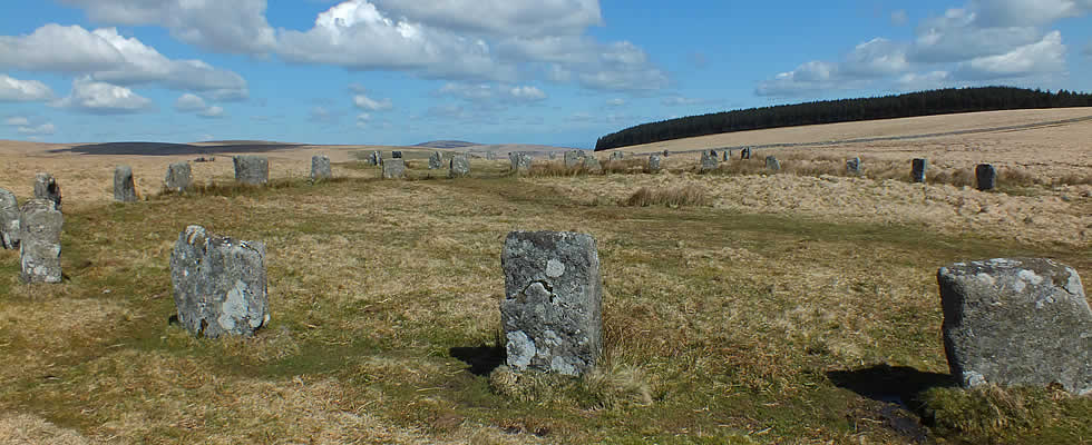 Dartmoor with its prehistoric stone circles is within easy reach of Launceston