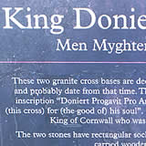 King Doniert's Plaque