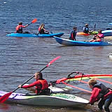 Water Sports at Siblyback Lake near St Cleer, Bodmin Moor