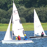 A regatta at Roadford Lake, Broadwoodwidger near Launceston