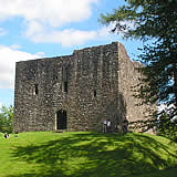 The historic Lydford Castle, Lydford - a short drive from Launceston